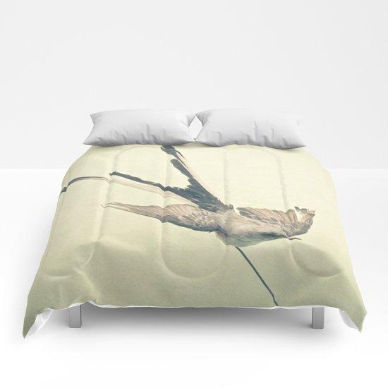 Bird Study #1 Comforters