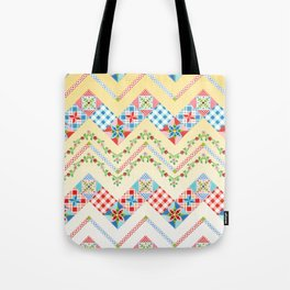 Country Days Zig Zag (printed) Tote Bag