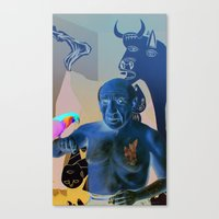 picasso Canvas Prints featuring Picasso by Matthew Lake