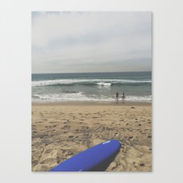 SURF WATCHING Canvas Print