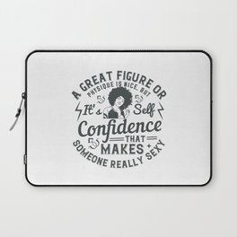 Women Motivation - Self-Confidence Laptop Sleeve