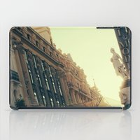 madrid iPad Cases featuring Madrid by Mario Pantoja