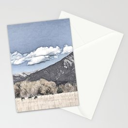 Taos, New Mexico USA Stationery Cards