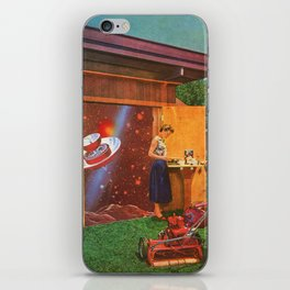 The continued study of Suburban Humanoids [or] the Cosmic Toolshed iPhone Skin