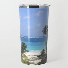 Beach Blues Travel Mug