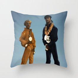 Let the Rythm Hit'em Throw Pillow