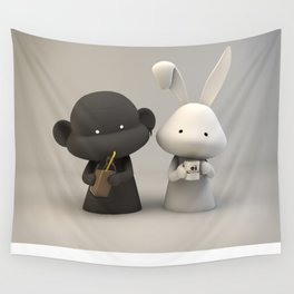 Coffee & Chocolate Milk Wall Tapestry