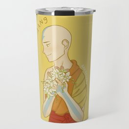 Avatar Flowers - Aang Travel Mug