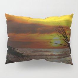 Sunset Palms ~ Pacific Ocean ~ California Pillow Sham