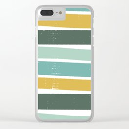 Distressed Clear iPhone Case