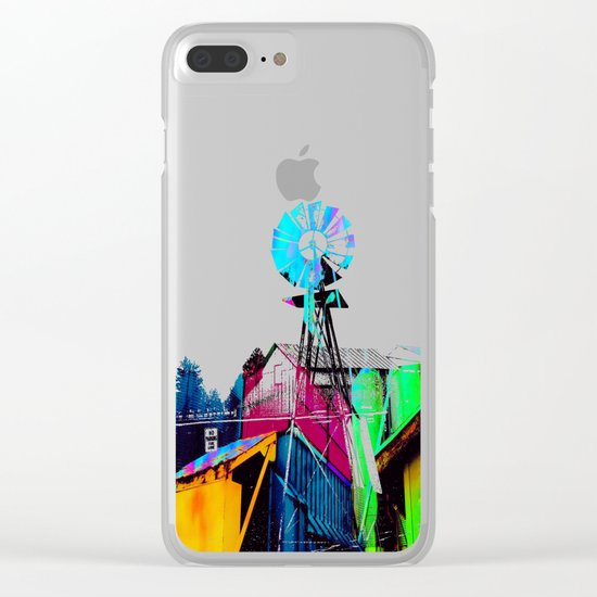 Color Silo Clear iPhone Case