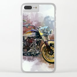 Harley Clear iPhone Case