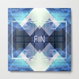 _FIN Metal Print