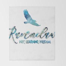 Wit, learning, wisdom Throw Blanket
