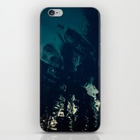 palms iPhone & iPod Skins featuring Palms by CloudedSunset