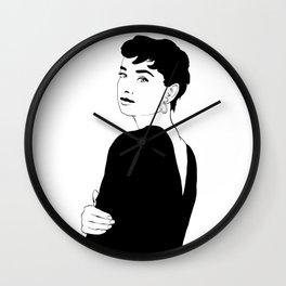 BEATNIK FUNNY FACE Wall Clock