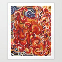 Unopposed : 01 Art Print