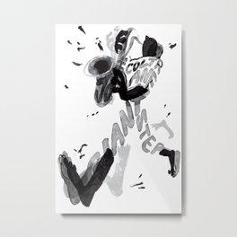 Giant step Metal Print
