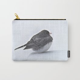 Brave Bird in a Blizzard Carry-All Pouch
