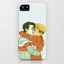 Simon & Kieran (In the Flesh) iPhone Case