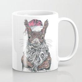Santa Squirrel Coffee Mug