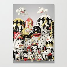 Pets and Monsters Canvas Print