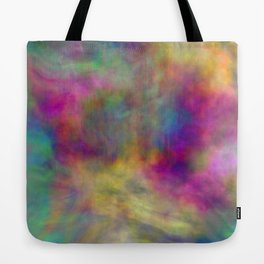 rainbow clouds Tote Bag