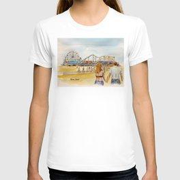 Santa Monica Pier Ferriswheel T-shirt