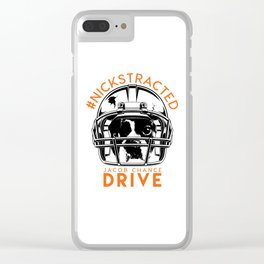 DRIVE By Jacob Chance Clear iPhone Case