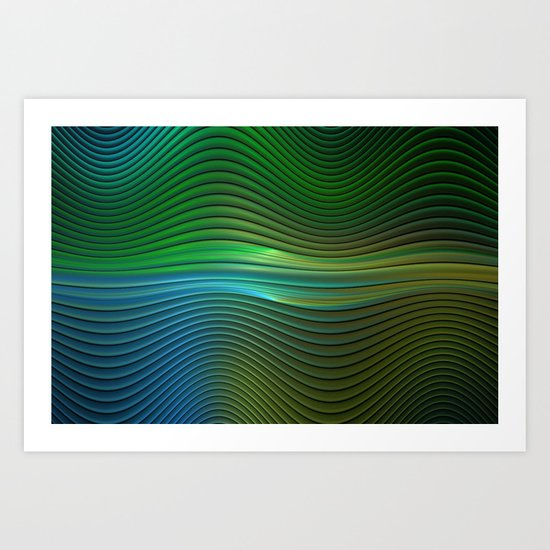 Squiggles Art Print