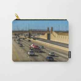 Oklahoma Highway by Monique Ortman Carry-All Pouch