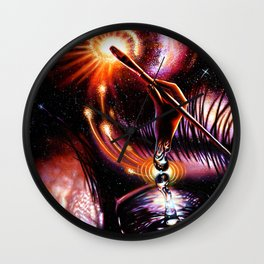 Minds Eye Wall Clock