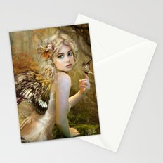 Touch of Gold - Fairy Stationery Cards