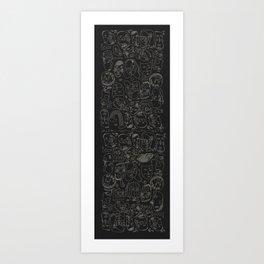 Yogi Tribe Art Print