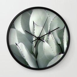 Ornamental Agave Wall Clock