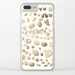 Sea shore Netania Clear iPhone Case