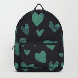 Watercolour  heart pattern 1 Backpack