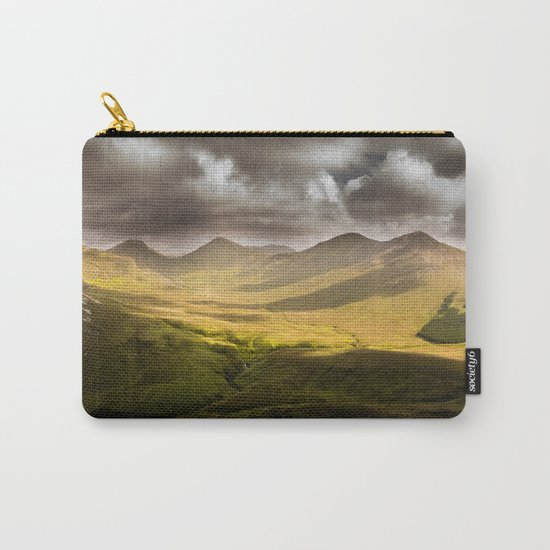 Up To The Mountains Carry-All Pouch