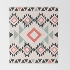 American Native Pattern No. 112 Throw Blanket
