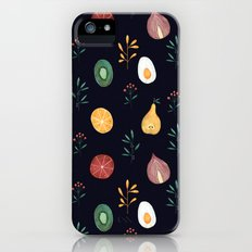 Vegetables pattern iPhone SE Slim Case