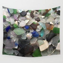 Sea Glass Assortment 1 Wall Tapestry