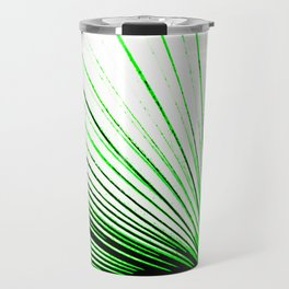 Vibrant, Bold Green Travel Mug