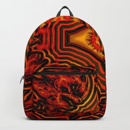 Autumn everywhere and over all ... Backpack