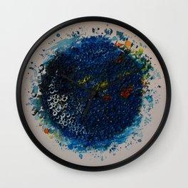 Blue circle Wall Clock