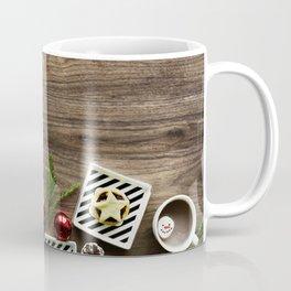 Rustic Farmhouse Christmas Holiday Decor Coffee Mug