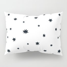 Litte bang doodles scandinavian style hand drawn illustration pattern Pillow Sham