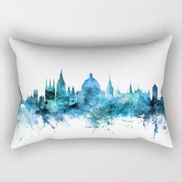 Oxford England Skyline Rectangular Pillow