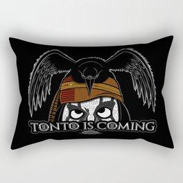 Tonto Is Coming Rectangular Pillow