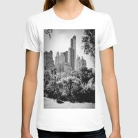 central park T-shirts featuring Central Park by Petra Heitler
