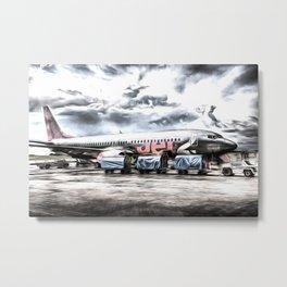 Boeing 737 Art Metal Print